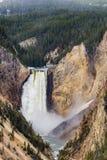 De kunstenaars richten waterval - het Nationale Park van Yellowstone Royalty-vrije Stock Foto