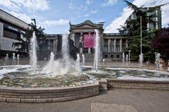 De Kunstgalerie Canada van Vancouver Stock Fotografie