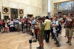 De Kunstgalerie van het Museum van het Louvre Royalty-vrije Stock Fotografie