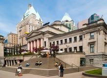 De Kunstgalerie van Vancouver Stock Afbeelding