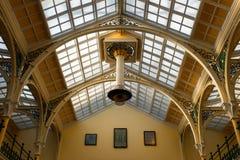 De kunstgaleriearchitectuur van Birmingham stock fotografie