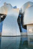 De kunstmuseum van Bilbao stock foto's