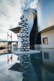 De kunstmuseum van Bilbao stock fotografie