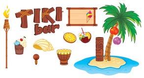 De kunstvoorwerpen van Tiki Stock Afbeeldingen