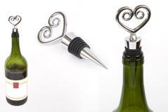 De kurk van de wijn Stock Afbeelding