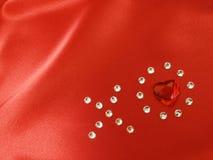 De Kus en de Omhelzing van de diamant Royalty-vrije Stock Fotografie