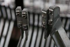De Kus van de schrijfmachine Stock Foto's