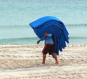De Kussens van de strandlanterfanter Stock Afbeeldingen