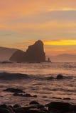 In de kust Stock Fotografie