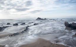 In de kust Stock Foto