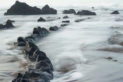 In de kust Royalty-vrije Stock Afbeeldingen