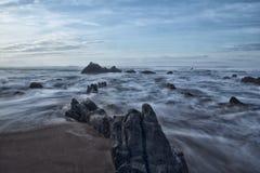 In de kust Stock Afbeeldingen