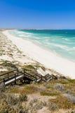 De kust Duinen van het Zand stock foto's