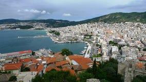 de kust en de landschappen van Griekenland Stock Foto's