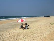De kust en de stranden van Goa royalty-vrije stock foto