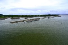 De kust- fiskerierna Fotografering för Bildbyråer