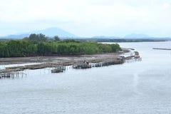 De kust- fiskerierna Royaltyfria Foton