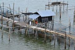 De kust- fiskerierna Arkivbilder