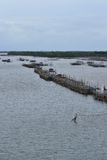 De kust- fiskerierna Royaltyfria Bilder