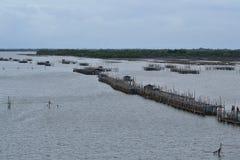 De kust- fiskerierna Arkivbild
