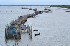 De kust- fiskerierna Royaltyfri Foto