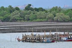 De kust- fiskerierna Arkivfoton