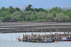 De kust- fiskerierna Arkivfoto