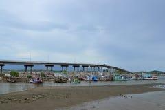 De kust- fiskerierna Royaltyfri Bild