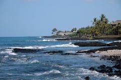 De Kust Hawaï van Kona royalty-vrije stock afbeelding