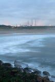 De kust industrie Stock Foto
