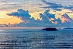 De kust intertidal streek royalty-vrije stock foto