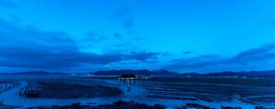 De kust intertidal streek stock afbeeldingen