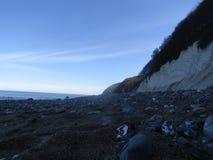 De kust kreidefelsen Stock Afbeeldingen
