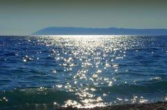 De kust met rotsen Stock Afbeelding