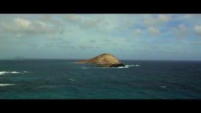 De kust oceaanweg van de strandvakantie stock footage
