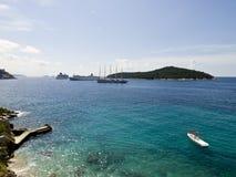 De kust van Adratic Royalty-vrije Stock Afbeelding