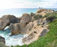 De kust van Albufeira Stock Foto's