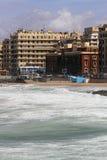 De kust van Alexandrië royalty-vrije stock afbeeldingen