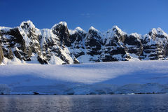 De Kust van Antarctica Stock Foto's