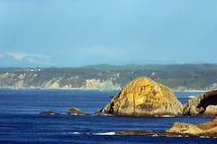 De kust van Asturias, Spanje royalty-vrije stock foto