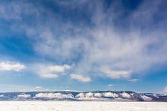 De kust van Baikal Stock Afbeelding