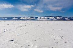 De kust van Baikal Royalty-vrije Stock Fotografie