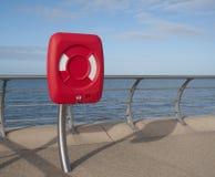 De kust van Blackpool - lifesaver Royalty-vrije Stock Foto