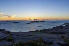 De kust van Bretagne Royalty-vrije Stock Foto