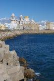 De kust van Cadiz Stock Afbeelding