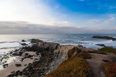 De Kust van Californië stock afbeelding