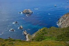 De kust van Californië Stock Foto's