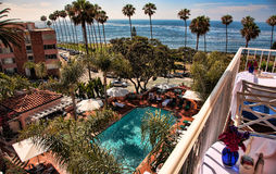De Kust van Californië, La Jolla, Californië Stock Afbeeldingen