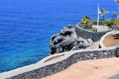De kust van Callaosalvaje in Adeje Royalty-vrije Stock Fotografie