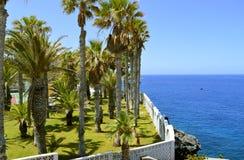 De kust van Callaosalvaje in Tenerife Royalty-vrije Stock Foto's